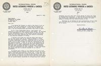 Gosser's letter to Carter
