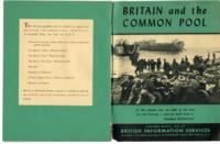 Britain and the Common Pool