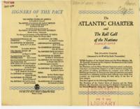 Atlantic Charter and the Roll Call of the Nations