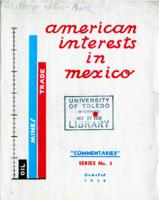 American Interests in Mexico