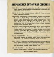 Keep America Out of War Congress