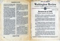 Washington Review, August 15, 1942: Revenue Act of 1942