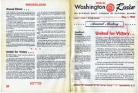 Washington Review, May 1, 1943: United for Victory