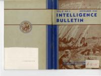 Intelligence Bulletin, vol. II, no. 3, November 1943