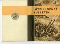 Intelligence Bulletin, vol. II, no. 7, March 1944