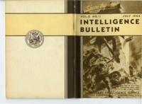 Intelligence Bulletin, vol. II, no. 11, July 1944