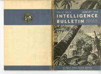 Intelligence Bulletin, vol. II, no. 12, August 1944
