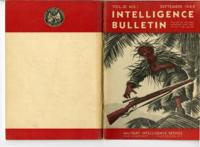 Intelligence Bulletin, vol. III, no. 1, September 1944
