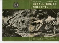 Intelligence Bulletin, vol. III, no. 3, November 1944