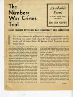 Nurnberg War Crimes Trial