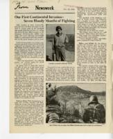 From Newsweek, May 22, 1944: Our First Continental Invasion--Seven Bloody Months of Fighting