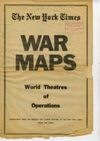 War Maps: World Theatres of Operations