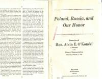 Poland, Russia, and Our Honor
