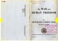 War and Human Freedom
