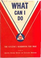 What Can I Do: The Citizen's Handbook for War