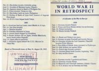 World War II in Retrospect