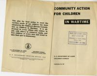 Community Action for Children in Wartime