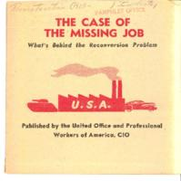 Case of the Missing Job