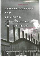 Rehabilitation and Training for Postwar Employment
