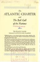 Atlantic Charter: The Roll Call of the Nations