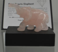Rose Quartz Elephant