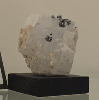 Carrollite on Calcite