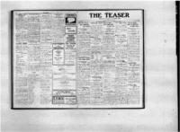 Teaser, January 6, 1921, Vol. 3, No. 13