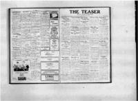 Teaser, January 13, 1921, Vol. 3, No. 14