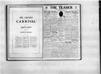 Teaser, April 14, 1921, Vol. 3, No. 26