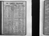 Campus Collegian, September 19, 1924,  Vol. 7, No. 1