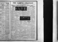Campus Collegian, October 16, 1924,  Vol. 7, No. 5