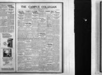 Campus Collegian, October 30, 1924,  Vol. 7, No. 7