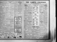 Campus Collegian, January 15, 1925,  Vol. 7, No. 14