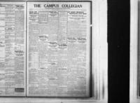 Campus Collegian, January 22, 1925,  Vol. 7, No. 15
