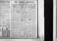Campus Collegian, April 23, 1925,  Vol. 7, No. 25