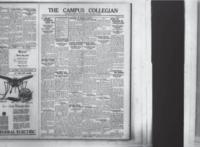 Campus Collegian, Thursday, October 1, 1925,  Vol. 8, No. 2