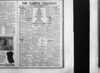 Campus Collegian, Thursday, December 17, 1925,  Vol. 8, No. 21