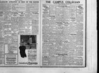 Campus Collegian, Friday, March 12, 1926,  Vol. 8, No. 18