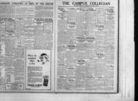 Campus Collegian, Friday, March 19, 1926,  Vol. 8, No. 19