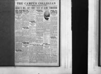 Campus Collegian, October 1, 1926,  Vol. 9, No. 1