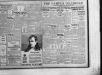 Campus Collegian, December 10, 1926,  Vol. 9, No. 11