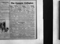 Campus Collegian, November 23, 1927,  Vol. 10, No. 10
