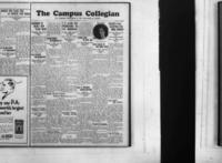 Campus Collegian, January 13, 1928,  Vol. 10, No. 14
