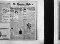"Kampus Kolera, Vol. 8 cu. In., dated ""Today""."