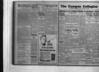 Campus Collegian, May 17, 1928,  Vol. 10, No. 27