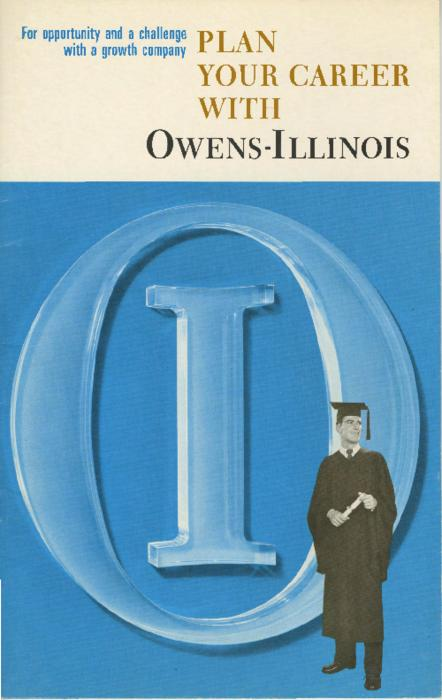 Brochure containing information on Owens-Illinois career opportunities