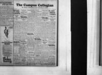 Campus Collegian, October 25, 1928,  Vol. 11, No. 5