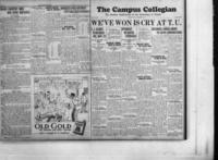 Campus Collegian, November 8, 1928,  Vol. 11, No. 7