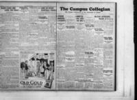 Campus Collegian, November 22, 1928,  Vol. 11, No. 9
