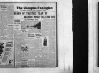 Campus Foolegian, March 21, April 1. 1929.  Unexpurgated edition.